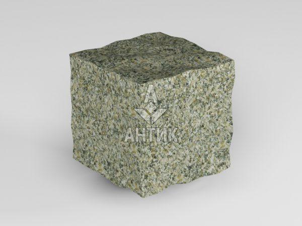 Брусчатка из Старобабанского гранита 50x50x50 колотая фото