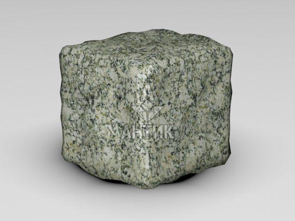 Брусчатка из Танского гранита 100x100x100 галтованная фото