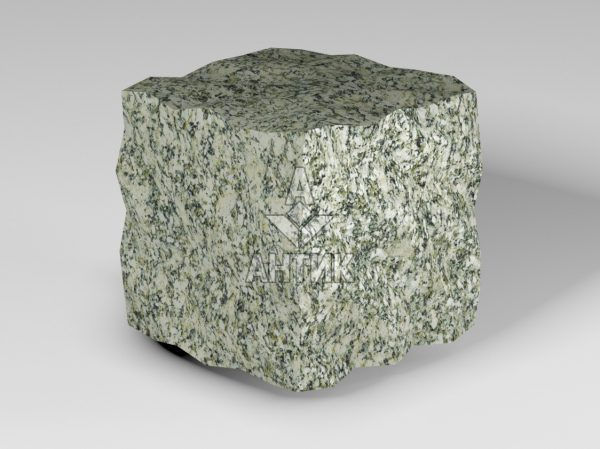 Брусчатка из Танского гранита 100x100x100 колотая фото