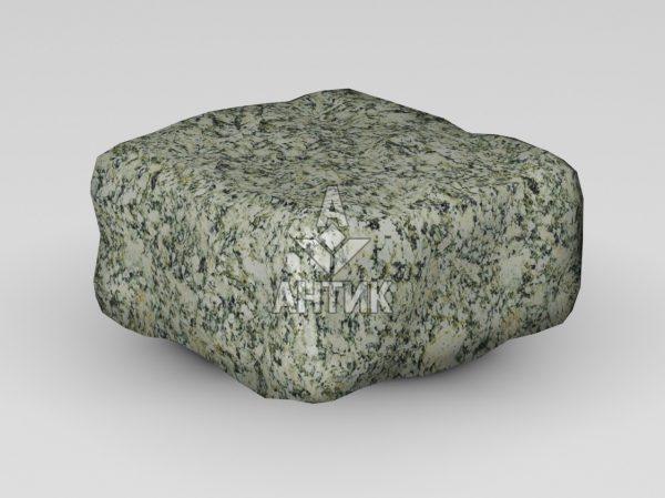 Брусчатка из Танского гранита 100x100x50 галтованная фото