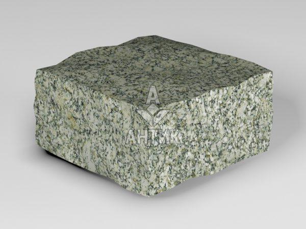 Брусчатка из Танского гранита 100x100x50 колотая фото