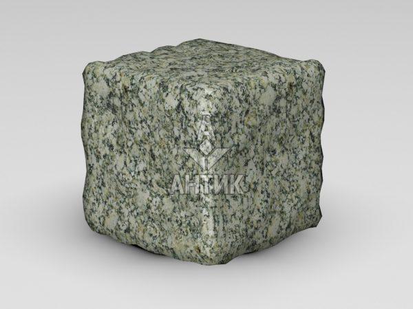 Брусчатка из Танского гранита 150x150x150 галтованная фото