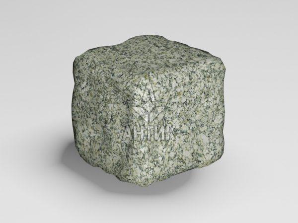 Брусчатка из Танского гранита 50x50x50 галтованная фото