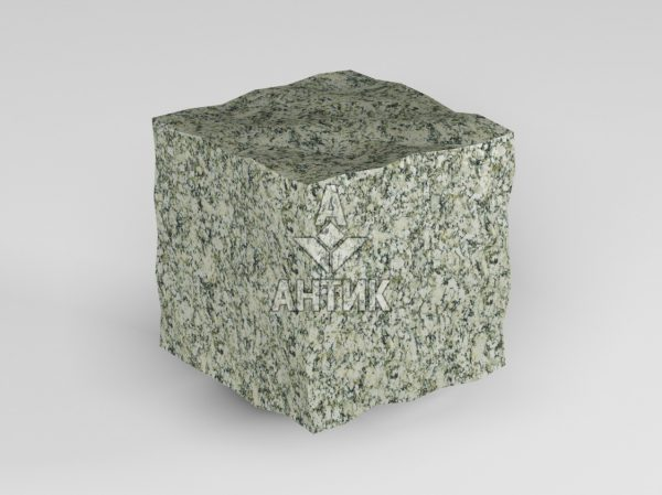 Брусчатка из Танского гранита 50x50x50 колотая фото