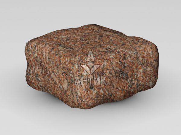 Брусчатка из Токовского гранита 100x100x50 галтованная фото