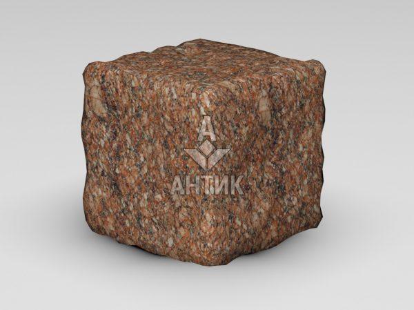 Брусчатка из Токовского гранита 150x150x150 галтованная фото