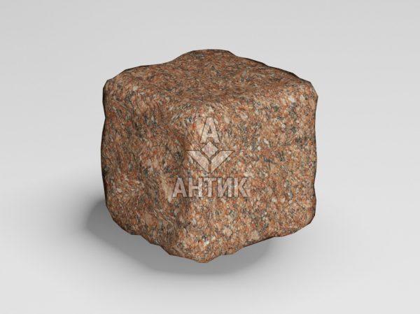 Брусчатка из Токовского гранита 50x50x50 галтованная фото