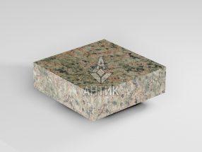 Брусчатка из Васильевского гранита 100x100x30 пиленая термообработанная фото