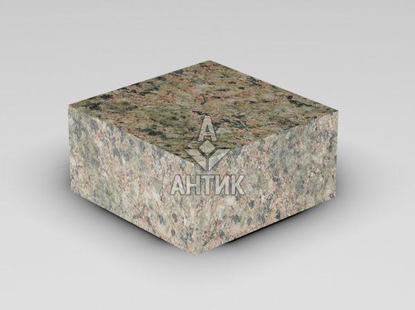Брусчатка из Васильевского гранита 100x100x50 пиленая термообработанная фото