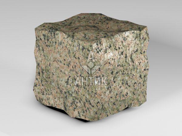 Брусчатка из Васильевского гранита 150x150x150 колотая фото