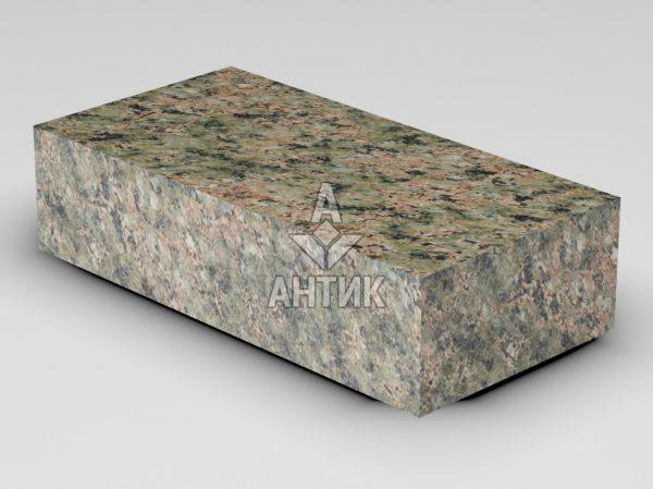 Брусчатка из Васильевского гранита 200x100x50 пиленая термообработанная фото