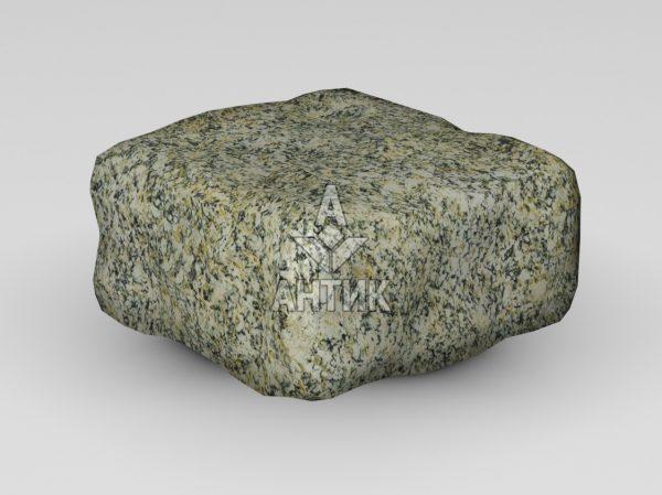 Брусчатка из Янцевского гранита 100x100x50 галтованная фото