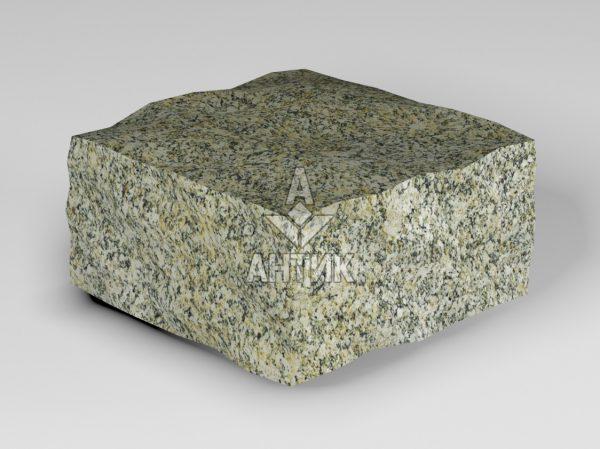 Брусчатка из Янцевского гранита 100x100x50 колотая фото