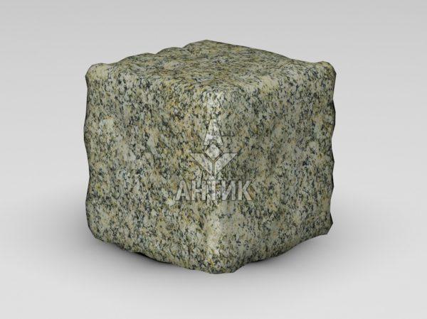 Брусчатка из Янцевского гранита 150x150x150 галтованная фото