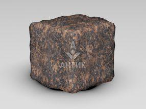 Брусчатка из Жадановского гранита 100x100x100 галтованная фото