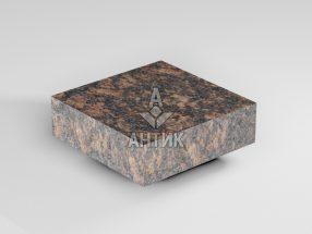 Брусчатка из Жадановского гранита 100x100x30 пиленая термообработанная фото