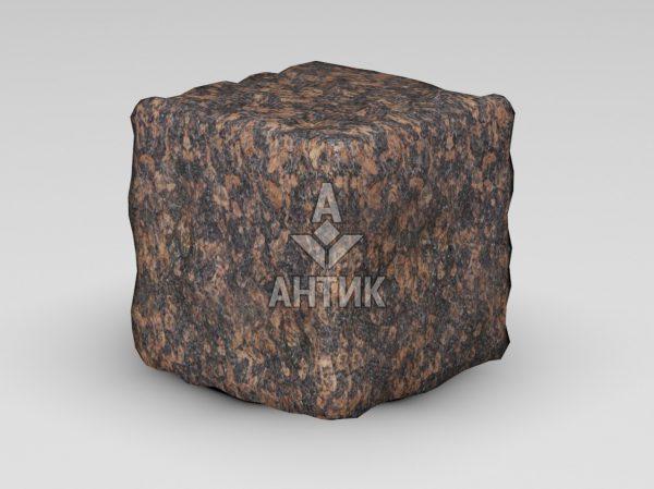 Брусчатка из Жадановского гранита 150x150x150 галтованная фото