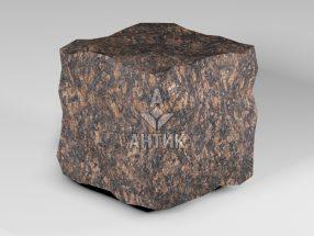Брусчатка из Жадановского гранита 150x150x150 колотая фото