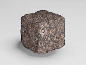 Брусчатка из Жадановского гранита 50x50x50 галтованная фото
