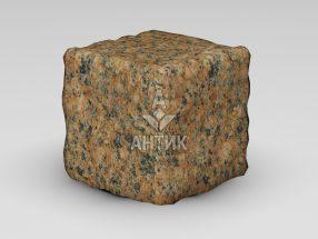 Брусчатка из Жадковского (Корецкого) гранита 150x150x150 галтованная фото