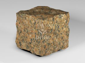 Брусчатка из Жадковского (Корецкого) гранита 150x150x150 колотая фото
