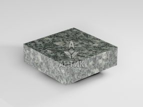 Брусчатка из Жежелевского гранита 100x100x30 пиленая термообработанная фото