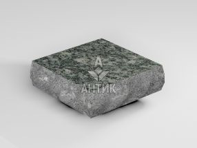 Брусчатка из Жежелевского гранита 100x100x30 пилено-колотая термообработанная фото