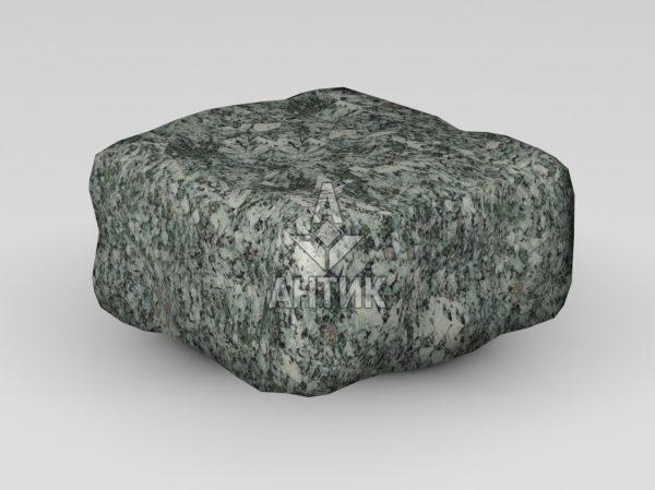 Брусчатка из Жежелевского гранита 100x100x50 галтованная фото