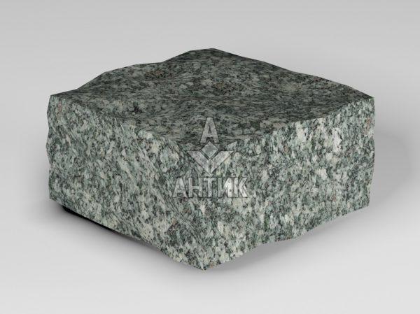 Брусчатка из Жежелевского гранита 100x100x50 колотая фото