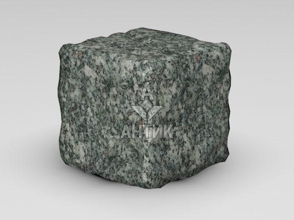 Брусчатка из Жежелевского гранита 150x150x150 галтованная фото