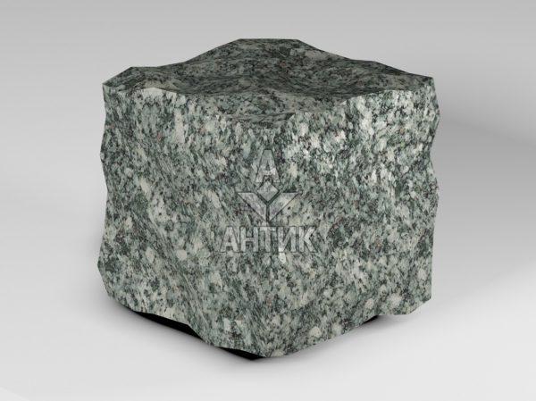 Брусчатка из Жежелевского гранита 150x150x150 колотая фото
