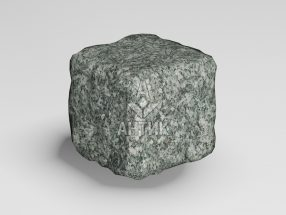 Брусчатка из Жежелевского гранита 50x50x50 галтованная фото