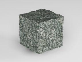 Брусчатка из Жежелевского гранита 50x50x50 колотая фото