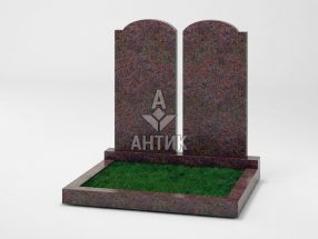 Памятник PADVOGR-001-06 Кишинский гранит фото