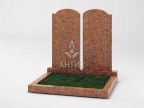 Памятник PADVOGR-001-13 Новоданиловский гранит фото