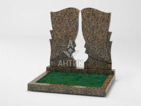 Памятник PADVOGR-002-04 Емельяновский гранит фото