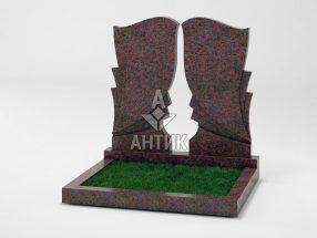 Памятник PADVOGR-002-06 Кишинский гранит фото