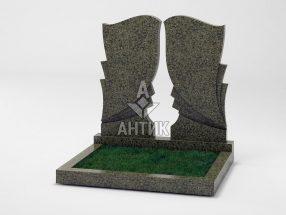 Памятник PADVOGR-002-11 Маславский гранит фото