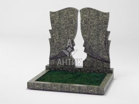 Памятник PADVOGR-002-16 Роговский гранит фото