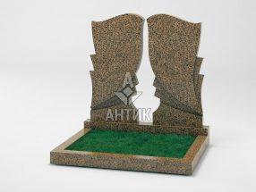 Памятник PADVOGR-002-17 Симоновский гранит фото