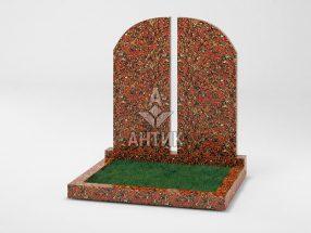 Памятник PADVOGR-004-05 Капустинский гранит фото