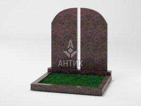 Памятник PADVOGR-004-06 Кишинский гранит фото