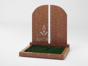 Памятник PADVOGR-004-13 Новоданиловский гранит фото