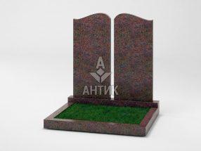Памятник PADVOGR-005-06 Кишинский гранит фото