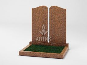 Памятник PADVOGR-005-13 Новоданиловский гранит фото