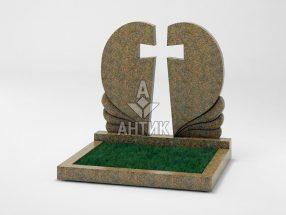 Памятник PADVOGR-006-13 Новоданиловский гранит фото