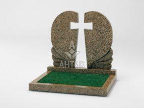 Памятник PADVOGR-006-17 Симоновский гранит фото