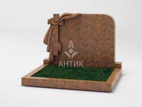 Памятник PADVOGR-007-13 Новоданиловский гранит фото