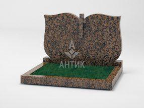 Памятник PADVOGR-008-04 Емельяновский гранит фото
