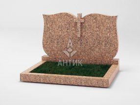 Памятник PADVOGR-008-12 Межиричский гранит фото
